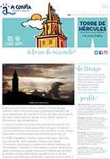 Front page of the Leaflet Tower of Hercules